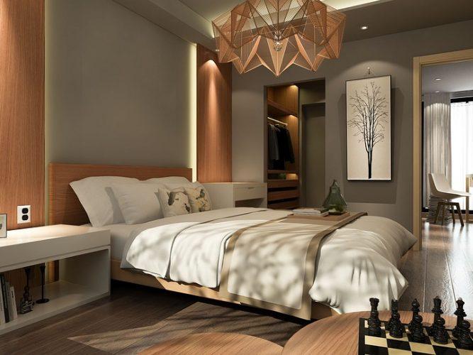 Κρεβάτι σαν σε ξενοδοχείο